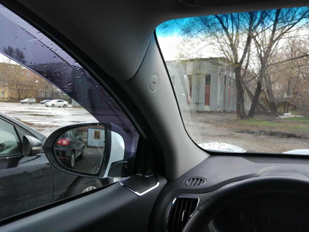 Устранение слепых зон в автомобиле