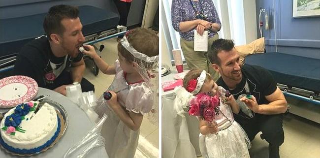 Четырехлетняя девочка «вышла замуж» за медбрата