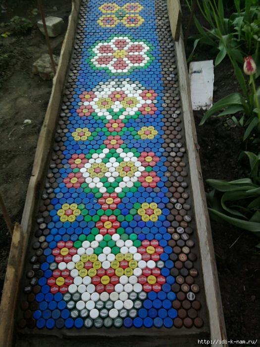 Как сделать садовые дорожки своими руками из плитки