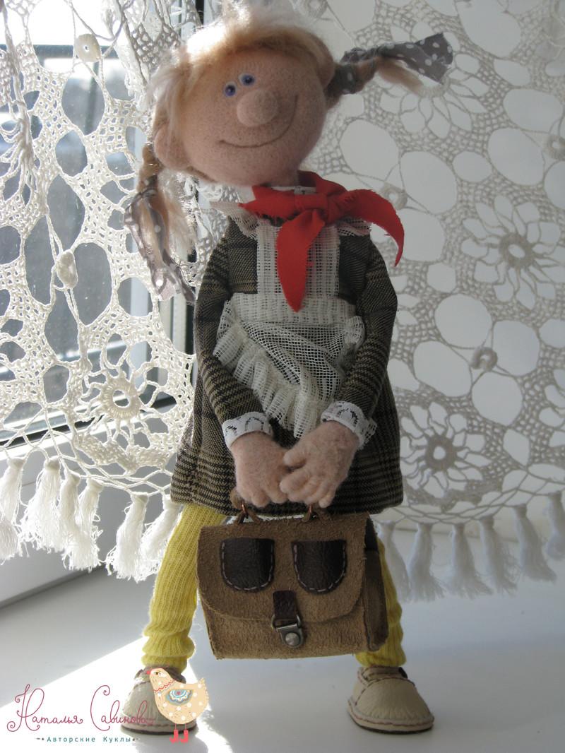 Сделать куклу валянием