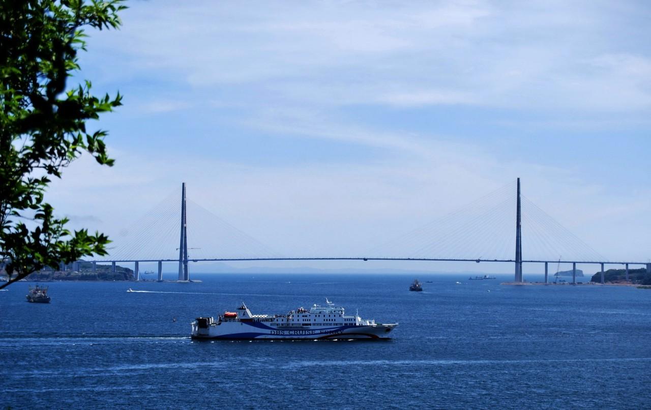 пролив Босфор Восточный /Владивосток  курорт, море, отпуск, россия
