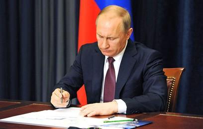 Путин назначил полпредов в шести федеральных округах