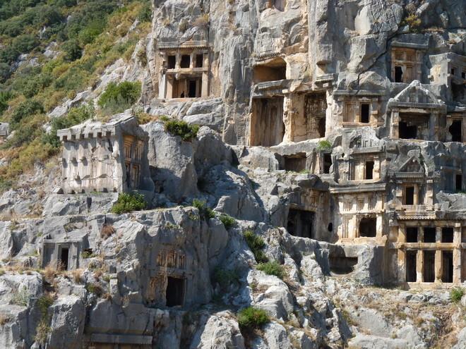 Ликийские гробницы | Мир путешествий