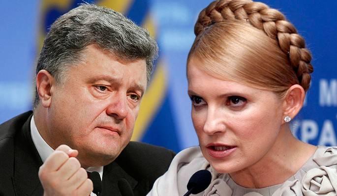 Тимошенко готова порвать Порошенко