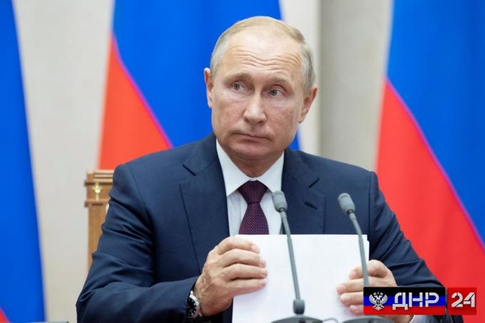 Ответ Киеву: президент РФ подписал указ о санкциях в отношении Украины