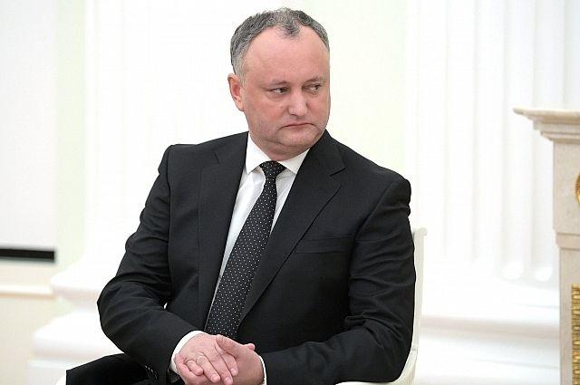 Игорь Додон прокомментировал запрет на въезд в страну группе артистов из РФ