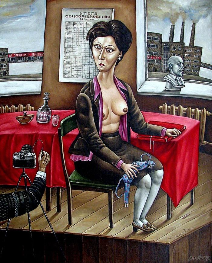 AngelaJerich26 Путешествие в СССР: картины художницы Анжелы Джерих