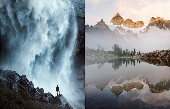 Художник-пейзажист забирается в дикие места и снимает пейзажи, которые никто до этого не видел