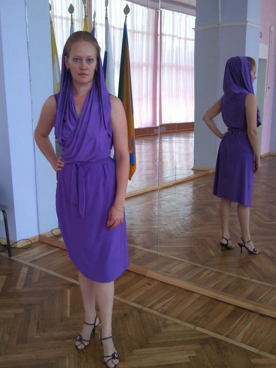 Выкройка платья-трансформера