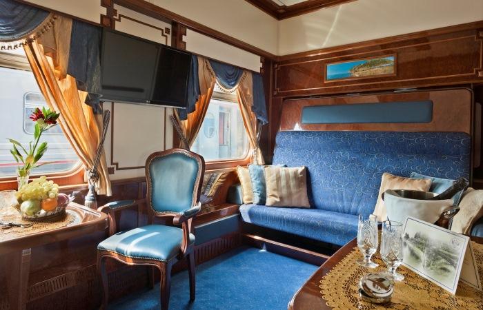 Как выглядят самые роскошные поезда