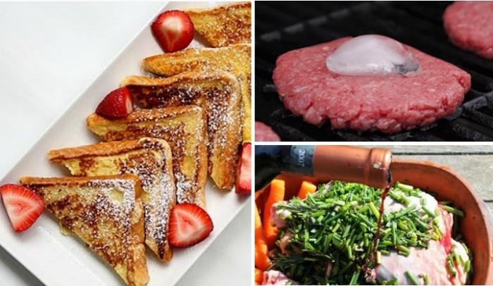 10 подсмотренных кулинарных трюков, повторить которые сможет каждый на своей кухне