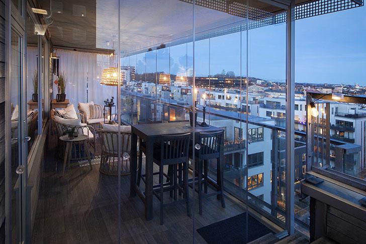 Квартира в Швеции, где главное — вид из окна