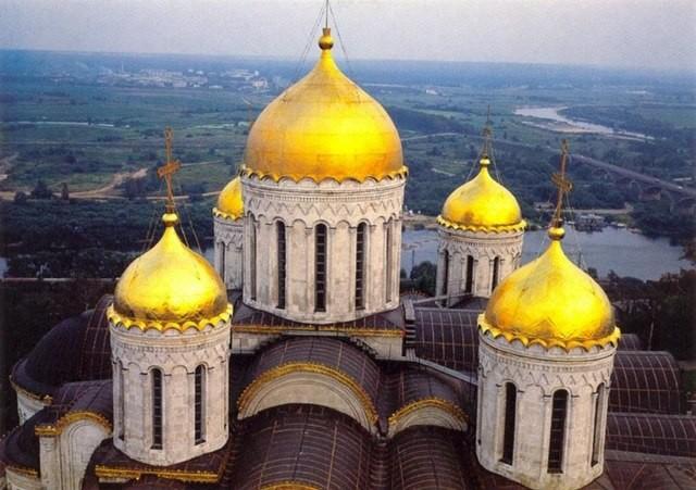 Купола Успенского Собора памятники, церкви