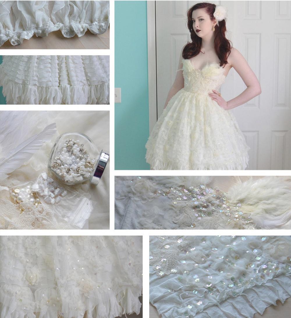 18-летняя девушка шьет платья, от которых невозможно оторвать глаз. Посмотрите, какая красота!