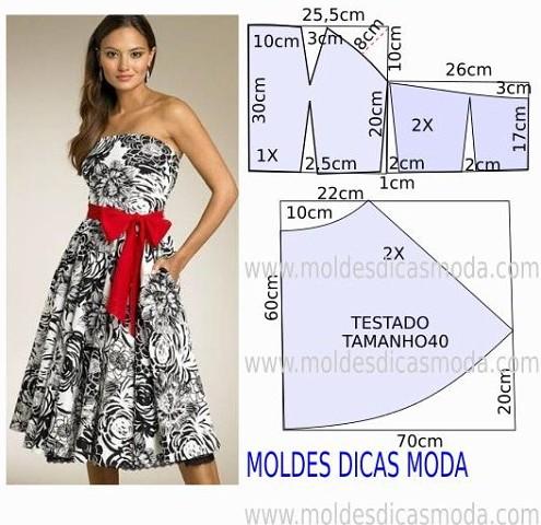 Красивые платья по простым выкройкам