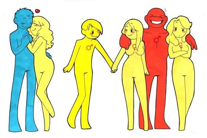 Необычные типы любовных отношений у животных