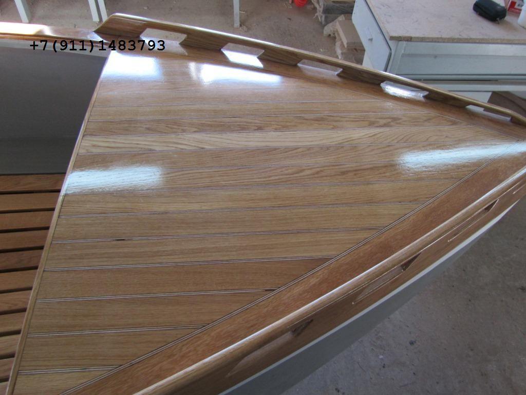 Лодка моторная из дерева