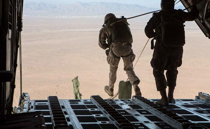 Морпехи США ждут момента для высадки в Крым