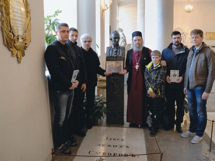Санкт-Петербург отмечает 215 лет со дня кончины А.В.Суворова