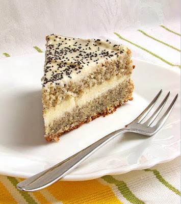 Творожный торт с маком рецепт с фото