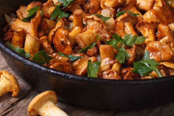 Шампиньоны рецепты приготовления жареные с картошкой