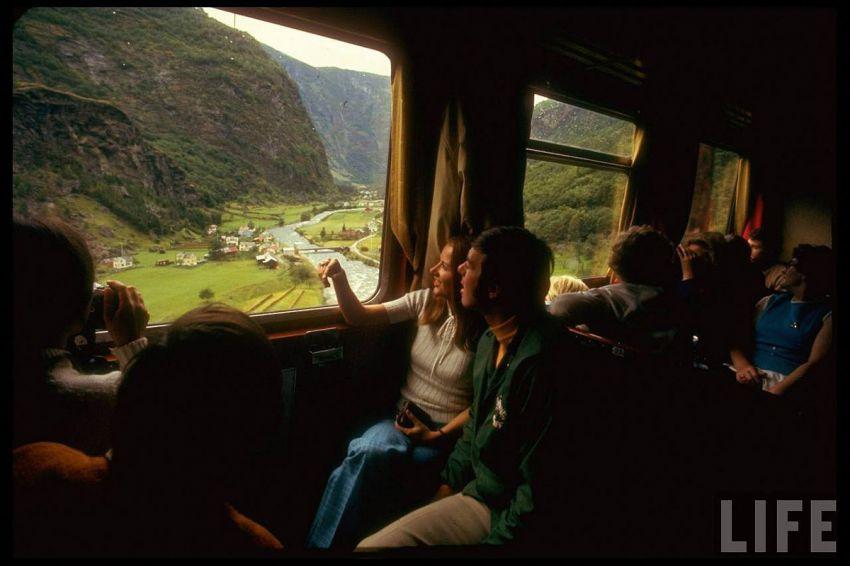 Назад в прошлое. Путешествие на поезде по Европе 1970-го. 1970, путешествие, на поезде, по Европе, европа, фото