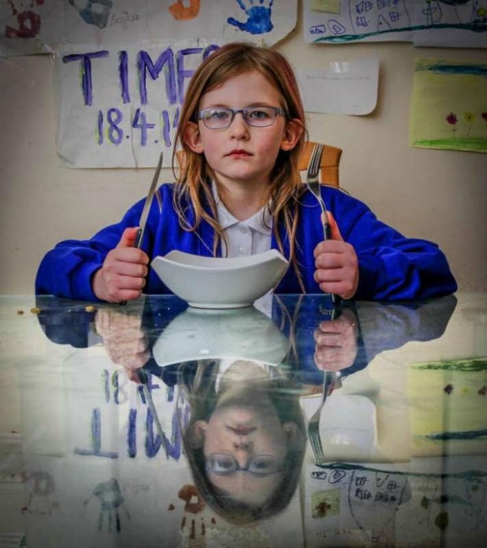 «Девочка из стали»: 7-летняя школьница не чувствует голода, боли и усталости