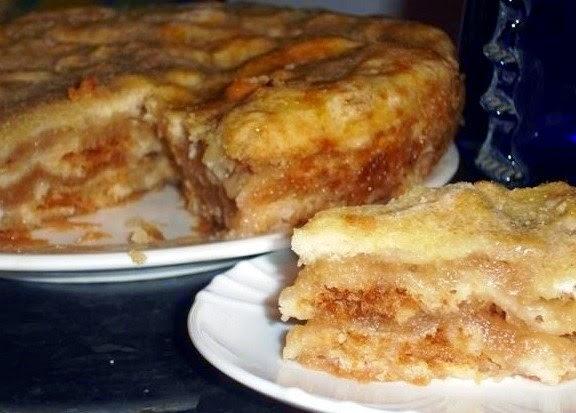 Самый ленивый яблочный пирог в мире. Супер рецепт!