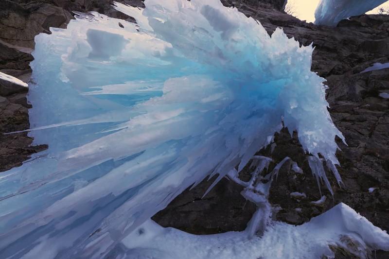 Лучше гор могут быть только... замёрзшие водопады водопады, водопады России, водопады зимой, замёрзшие водопады, красивые водопады, природа России