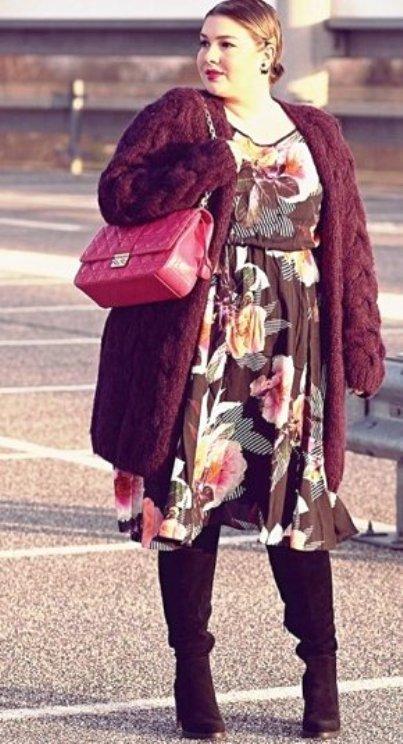 """Для женщин размера """"плюс"""" — подборка модных образов на весну-лето 2017"""
