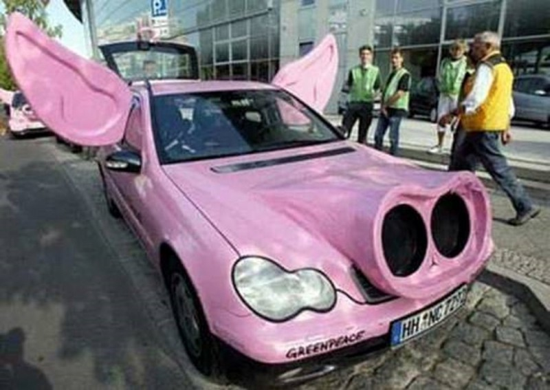 14. Машина-свинья автомобили, концепт-кары, странности