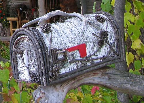 Прикольные почтовые ящики. Идеи для загородного дома