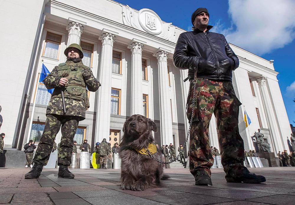 Украина: ГОД БЕЗУМИЯ МАЙДАНА