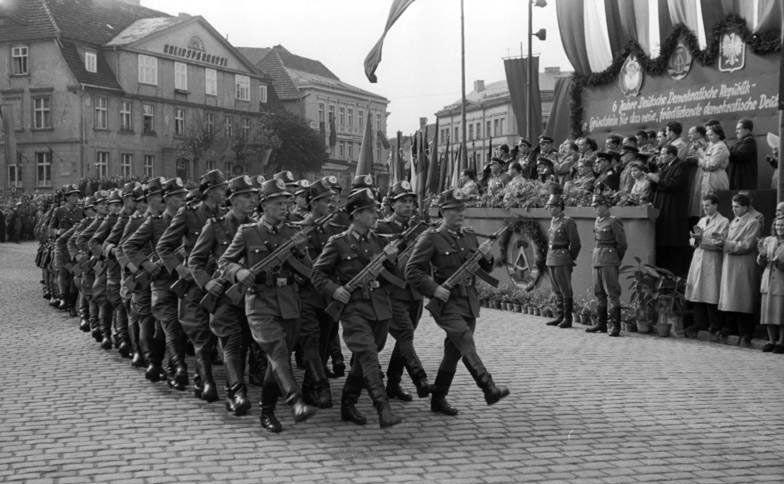 Шестьдесят лет со дня образования Национальной народной армии ГДР
