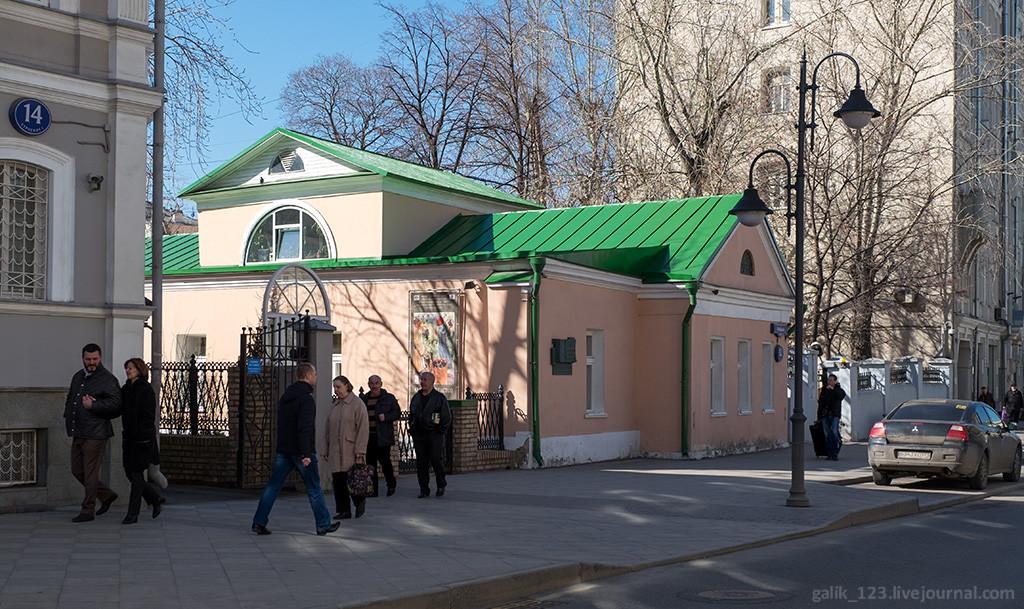 Вокруг Толстовского центра на Пятницкой