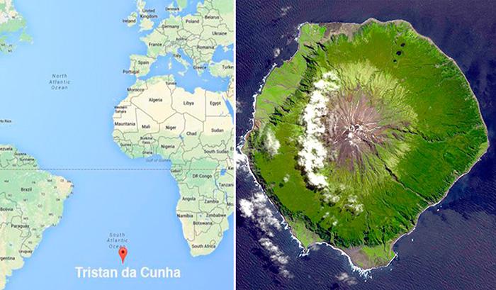 Тристан-да-Кунья - самый удаленный населенный остров на свете, где нет ни мобильной связи, ни Интернета