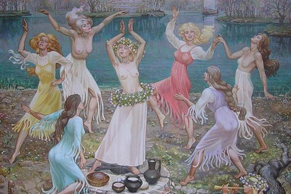 Сексуальные традиции на Руси... Культурный шок!