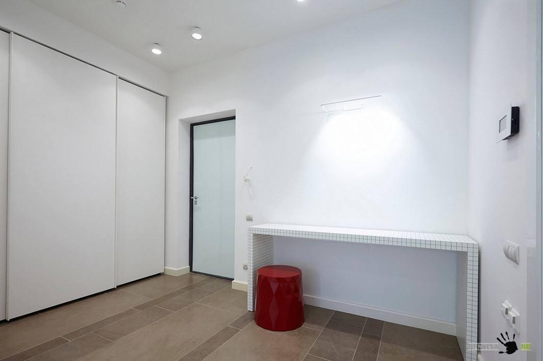 Белоснежный интерьер одной московской квартиры