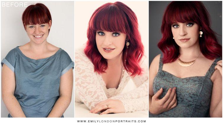 Фотограф доказал, что причёска и макияж превращают любую женщину в красавицу