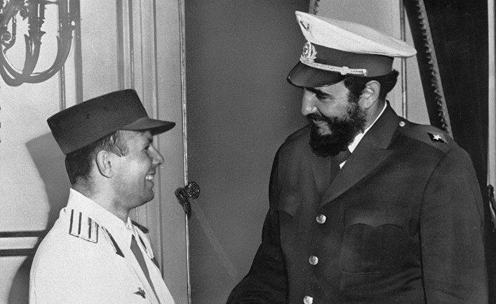 Фидель Кастро и Юрий Гагарин: неразрывная связь (Cubadebate, Куба)