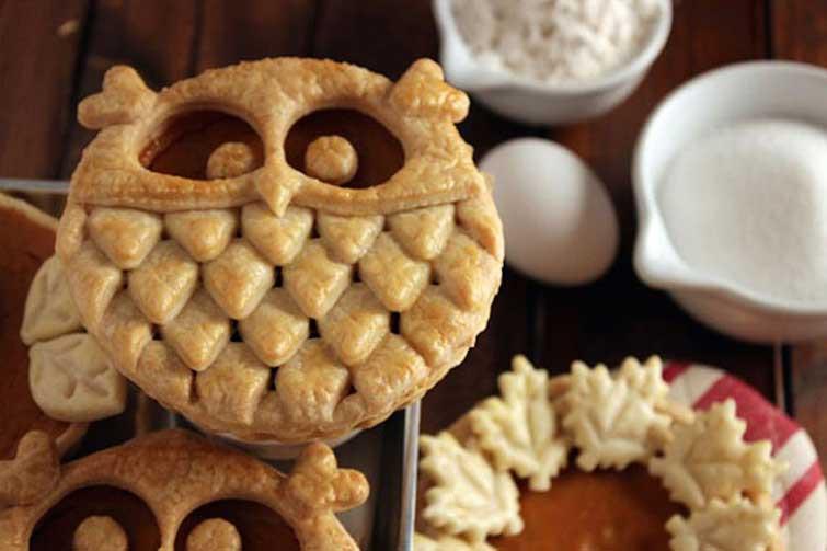 Пирог-сова выпечка, красивая еда, кулинария, пироги