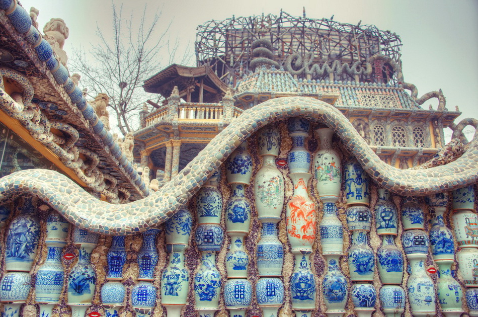 Фарфоровый дворец в  Тяньцзине