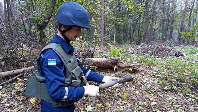 Пожарище и взрывы: ВСУ подожгли под Черниговом свой склад боеприпасов