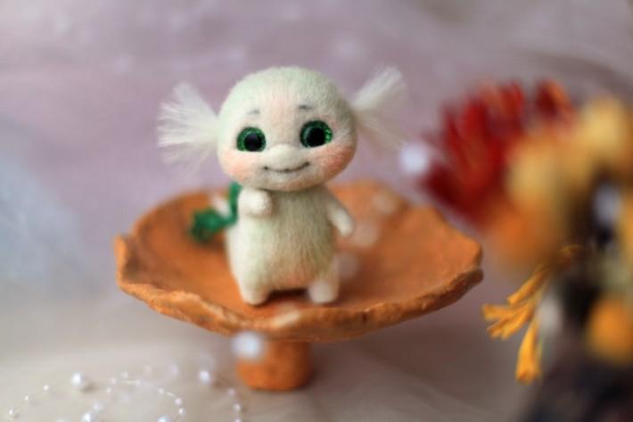 Нежные игрушки Надежды Мичеевой