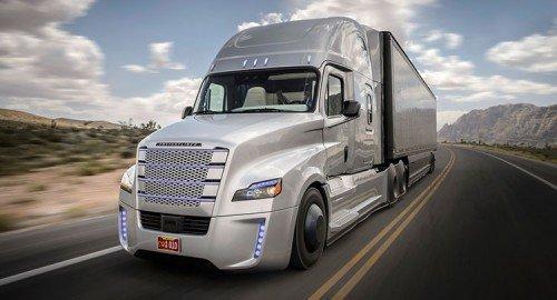 Daimler выводит беспилотные грузовики на дороги Европы