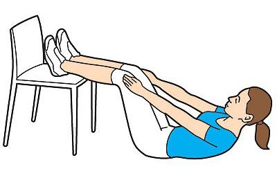 ПОХУДЕЙКА. Короткая тренировка со стулом
