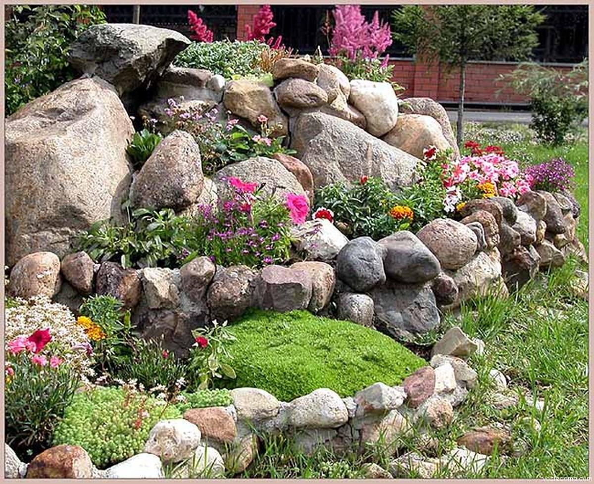 Цветы в саду своими руками фото