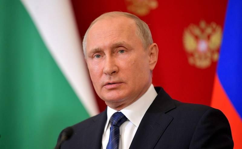 Путин: Россия выходит из ДРС…