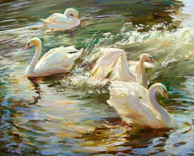 Красивые картины живопись