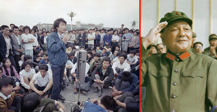 История китайского майдана 1989 года
